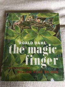 1966 *1st USA ed*The Magic Finger - Roald Dahl (William Pene Du Bois) Harper Row