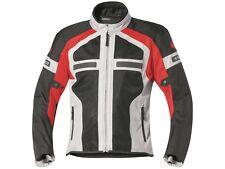 Blouson De Motard Held Tropic II taille: L Noir/Rouge Textile veste d'été 6533