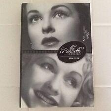 Joan & Constance Bennett Bio Scandal Movie Actresses Topper Dark Shadows Hc/Dj