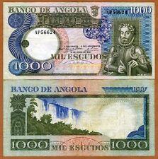 Angola, 1000 (1,000) Escudos, 1973, P-108, F