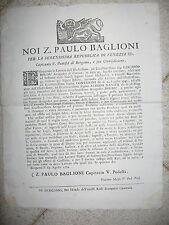 V150-REP.VENETA-BERGAMO CONCESSIONE TERRENI AI CONTI MARTINENGO COLEONI