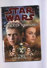 R A Salvatore/Star Wars Episode 11 Attack Of The Clones H/C D/J