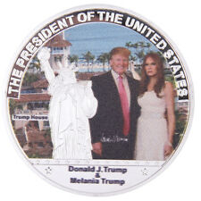 US President Trump and Lady Commemorative Coin New