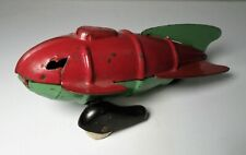VINTAGE 1930's WYANDOTTE PRESSED STEEL TOY ROCKET SPACE SHIP BUCK RODGERS