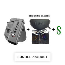 BUNDLE Fobus 320C ND Right Hand Rotating Paddle Holster For Sig Sauer P250