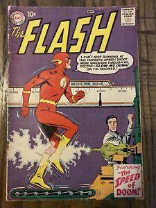 Flash #108 RARE! End Grodd Trilogy; 1959 10c Cover 1ST APP MOHRU!