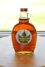 100% Pure Maple Syrup Dark Amber strong flavor made in Ct, One 12 oz. bottle