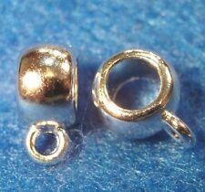 10Pcs. Tibetan Silver-Plated BAILS Pendant or Charm Connectors Findings BA117