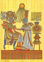 B95466  ankhesenamun scnting tutankhamun postcard  egypt africa