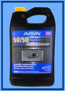 1 Gallon Pre-diluted Engine Coolant/Antifreeze AISIN for Lexus Scion Toyota Pink