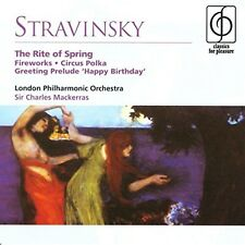 Stravinsky - The Rite Of Spring 1999 Fireworks, Circus Polka New Music Audio CD
