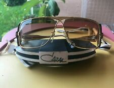 CAZAL 951 AUTHENTIC VINTAGE SUNGLASSES HANDMADE IN GERMANY. 80s . NEW GOLD FRAME