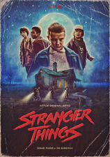 STRANGER THINGS A3 POSTER