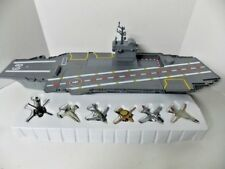 """""""Independence"""" Aircraft Carrier with 6 Die-cast Realistic Fighters by Fast Lane"""
