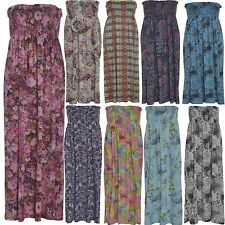 Viscose Floral Sleeveless Dresses for Women
