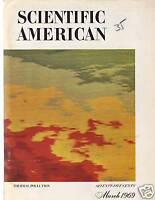 1969 Scientific American March - Mars and Venus, Plague