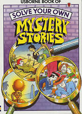 Vintage Usborne Solve Your Own Mystery Stories by Jenny Tyler(Paperback,1996)