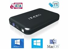 "IT735 USB 3.0 Disco duro externo caja para 3.5"" Sata HDD con Cable USB3"