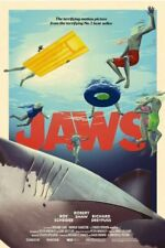 mondo Bottleneck Gallery Jaws bng movie Poster art print xx/225 New Sold Out