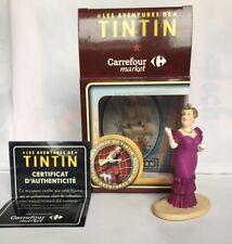 TINTIN FIGURINE BIANCA CASTAFIORE  / HERGE / PUB CARREFOUR / MOULINSART / NEUF