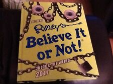 NEW Ripleys Believe It or Not! 2017 Hardcover Annual UNLOCK THE WEIRD RRP £20.00