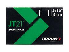 1000 x Arrow staples JT21 T27 8mm 5/16in ARRJT21516S