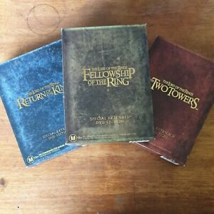 Lord of the Rings COMPLETE  *Special Extended DVD Box Sets* DVD