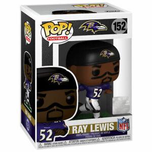 Funko POP! NFL Legends S3 Vinyl Figure - RAY LEWIS (Baltimore Ravens) #152 -NM/M