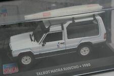 """Talbot Matra Rancho """"Surf"""" de 1980 - Modèle au 1/43e"""