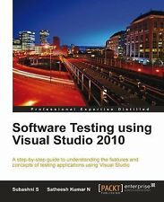 Software Testing Using Visual Studio 2010 by S. Subashni and N. Satheesh...