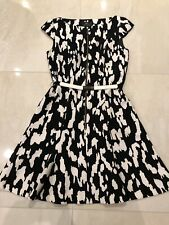 Beautiful Cue Animal Print Dress Size 10