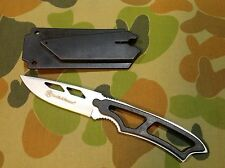 Smith & Wesson hunting fixed steel blade knife whistle sheath AU seller