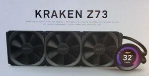 NZXT Kraken Z73 360 mm AIO Processor CPU Water Cooler LCD Screen Wasserkühler