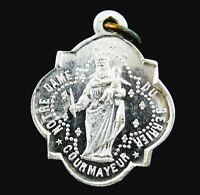 Notre Dame de Guérison Berrier Sanctuary Vintage Catholic Medal Courmayeur