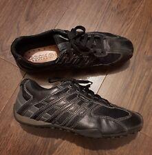Geox Respira Uomo Snake K Men Sneakers Low Shoes black 10 uk