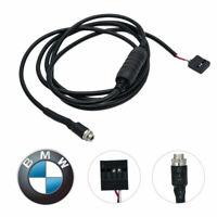 Per BMW E39 E53 X5 E46 BM54 AUX IN Cavo audio Aux Adattatore cable femmina 3.5mm