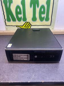 HP DESKTOP Core I5 3570 3.4GHZ 8 GB 500GB WINDOWS 10 SFF PC COMPUTER UK SLIM #2D