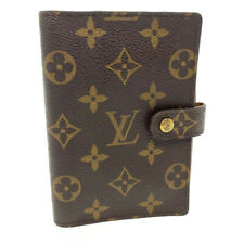 LOUIS VUITTON Monogram Agenda PM Day Planner Cover R20005 LV Auth yk074