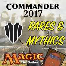 Magic the Gathering MTG Commander 2017 C17 Mythic Rares & Rare Cards NM/M