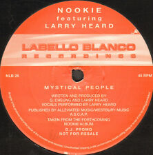 NOOKIE - Mystical People - Feat Larry Heard - 1997 - Labello Blanco - NLB25 - Uk