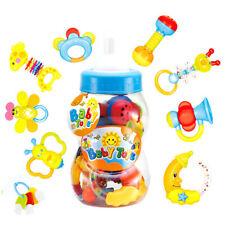 9tlg Baby Spielzeug Babybett ab  Rasseln Greiflinge Rassel Babyrassel 3 monate