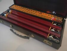 "1950's Royal Mahjong Set Known As ""The Picture Frame Set"" w/8 Jokers & 5 Racks"