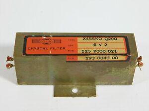 Collins X455KOQ200 526-7000-021 200Hz Crystal Filter for S-Line 75S-3 Receiver