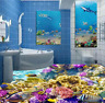 3D Coral Ocean 673 Floor WallPaper Murals Wall Print 5D AJ WALLPAPER AU Lemon