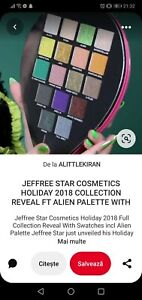 Jefree Star Cosmetics Holiday 2018 Collection Reveal FT Alien Palette