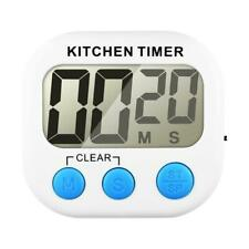 Large LCD Loud Alarm Magnetic Digital Kitchen Cooking Timer Count Down Stopwatch