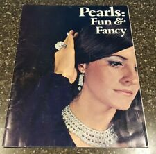 VTG 1971 Pearls Fun & Fancy Instruction Book for Crocheting and Sewing Pearls