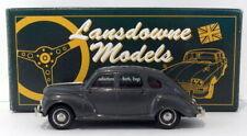Lansdowne Models 1/43 Scale LDM26 - 1953 Jowett Javelin Deluxe - Athena Grey