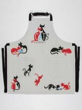 "Cats Slightly Obsessed Blue-Q Apron Cotton Twill New Unisex 28"" x 31"" Fashion"