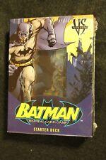 Upper Deck VS System DC TCG Batman Starter Deck NEW Sealed